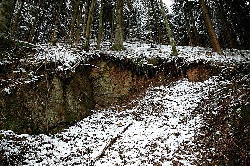 Stone Wood Snow