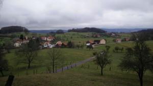 Ausblick auf Laudenau
